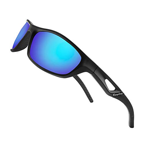 Polarized Sports Sunglasses, Running Sunglasses for Men Women Driving Glasses HD Cycling Golf Biking Fishing UV400