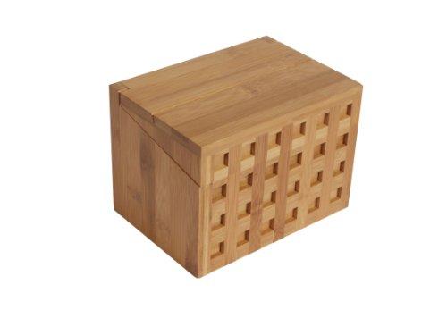 - Island Bamboo 6-Inch Recipe Card Box
