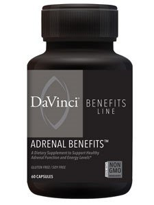 DaVinci Labs Adrenal Benefits, 120 Capsules