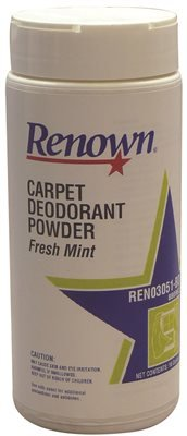 Renown REN03051-BD Carpet Deodorant Powder, Fresh Mint, 1-Pound Container