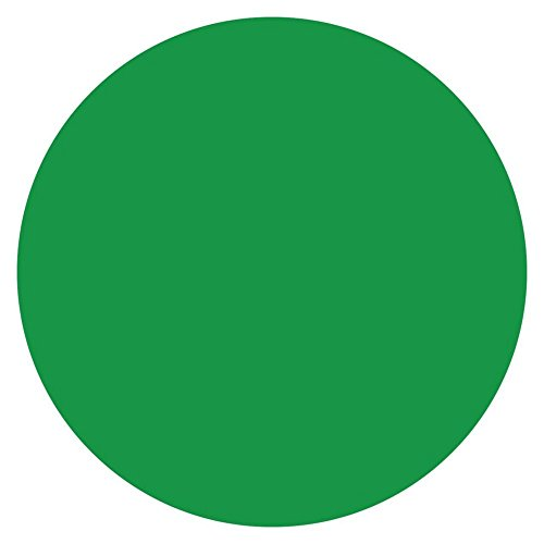DayMark 112242 MoveMark Green 3/4'' Blank Day Circle - 2000 / RL by DayMark Safety Systems