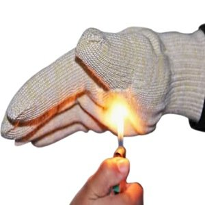 Grill Gloves Heat Resistant Extreme BBQ Gloves Oven Gloves Rated to 932f - Ideal Grilling Gloves by Grill Master (Black) by Grill Master Gloves (Image #8)