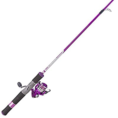 Zebco 11SP Lady Fishing Rod and 11SPL/ZALS502L Reel Combo