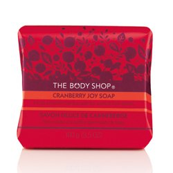 The Body Shop Cranberry Joy Soap 3.5 oa