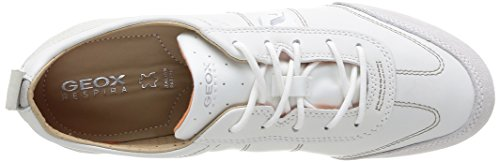 A Geox WHITE WHITEC1352 para Zapatillas Weiß D OFF Vega Mujer PSxSFv