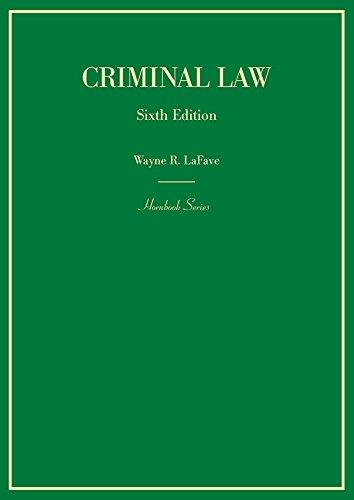 Criminal Law Hornbooks