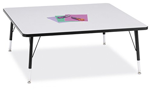 Berries 6418JCT180 Square Activity Table, T-Height, 48