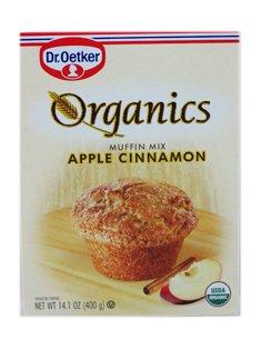 - Organics Muffin Mix - Apple Cinnamon 16 Ounce (453 Grams) Pkg