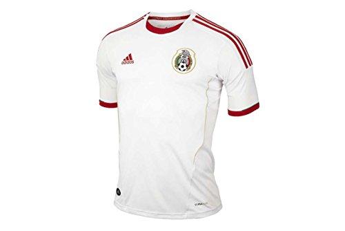 Mexico Jersey Third (adidas Mexico 3rd 2013 Jersey White (2XL))
