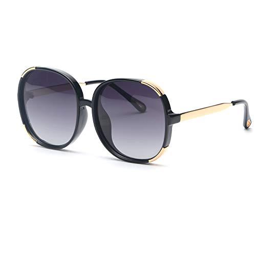 FAGUMA Oversized Round Polarized Sunglasses For Women Brand Designer Shades