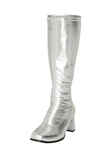 Kniehohe Stiefel Kniehohe Größe Silber 7 Silber 7 Kniehohe Größe Stiefel Stiefel Silber 7 Größe xFzqCg1