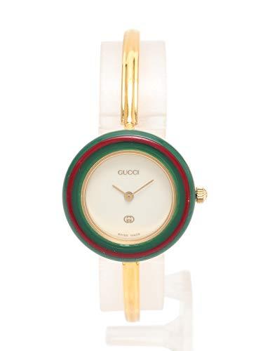 302c1fad0182 Amazon | (グッチ) GUCCI チェンジベゼルウォッチ レディース 腕時計 クオーツ SS ゴールド 白文字盤 11/12 中古 |  GUCCI(グッチ) | 腕時計 通販