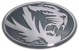 Missouri Tigers Oval Metal Auto Emblem