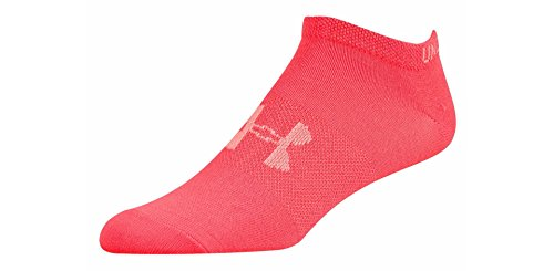 Under Armour Women's Socks - Liner No Show 6pk - Mixed Color