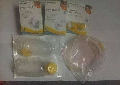 Medela Replacement Parts Kit Pump In Style Advanced BPA Free
