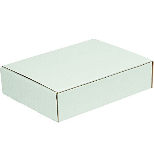 BOX USA BML1093 Literature Mailers, 10'' x 9'' x 3'', White (Pack of 50) by BOX USA