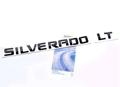 black silverado letters - 4