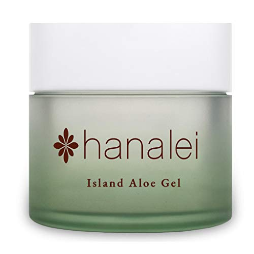 Island Aloe Gel by Hanalei Company, Cooling Moisturizer, Helps Relieve Sunburn, 100 gram (Cruelty Free, Paraben Free)