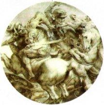 The Battle Of Anghiari Da Vinci - Da Vinci Battle of Anghiari Pin