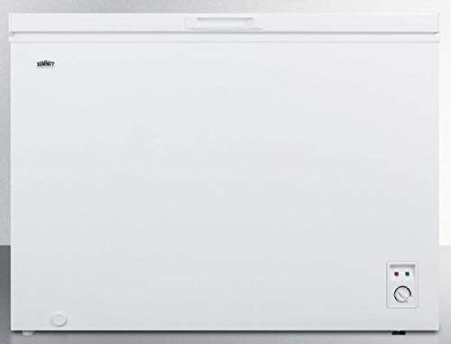 Summit WCH18W Freestanding Chest Freezer with 18 cu. ft. Capacity in White