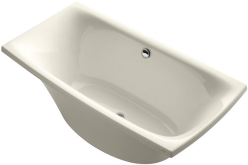 Kohler K-11344-47 Escale Freestanding Bath, Almond