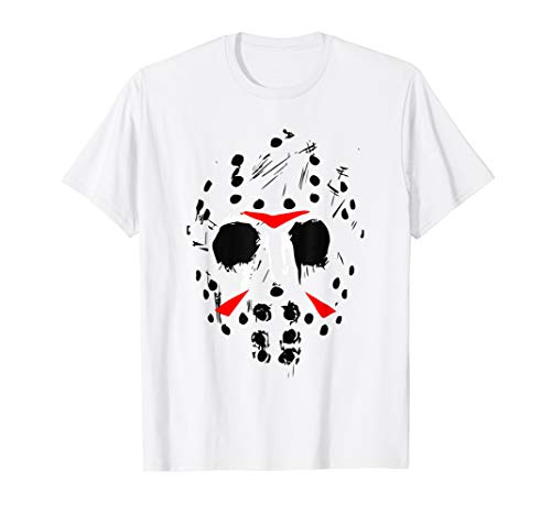 Jason Hockey Mask Halloween Shirt Friday 13TH T-Shirt