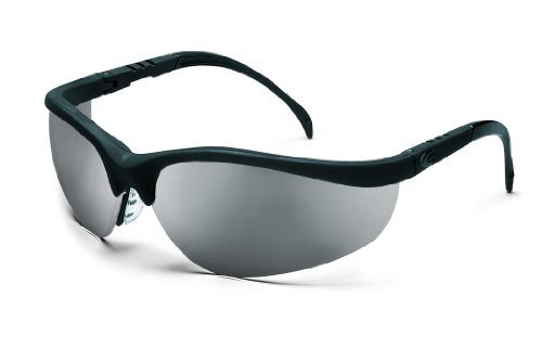 crews-kd119-klondike-safety-glasses-black-matte-frame-and-indoor-outdoor-clear-mirror-lens-1-pair-by