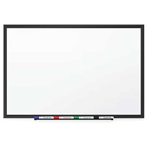 Quartet Standard Magnetic Whiteboard, White, 24 x 18 - Lot of 4 by Quartet