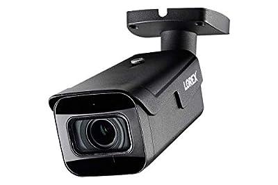 Lorex LNB9272S 4K 8MP 30FPS Vari-Focal 4X Zoom Bullet Camera w/Listen-in Audio … from Lorex