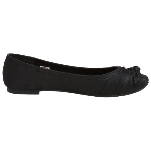 Rocket Dog Women's Memories Ballet Flat,Black,7.5 M US
