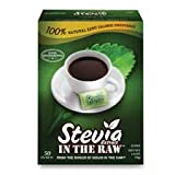 Stevia Extract In The Raw Sweetener - 50 per pack - 12 packs per case.