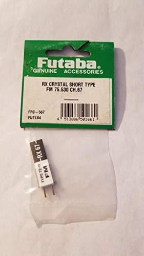Futaba RX Crystal Short Type FM 75.530 CH 67 FRC-567
