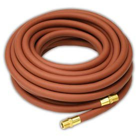 Reelcraft S601026 75 Low Pressure Air Water Hose Assembly  3 4  X 75  250 Psi  3 4  X 3 4 Nptf M   1 075 Od  Pvc Nylon