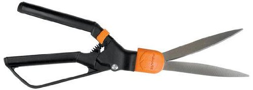 Fiskars 9215 Swivel Soft Touch Grass Shear (Soft Touch Scissors)