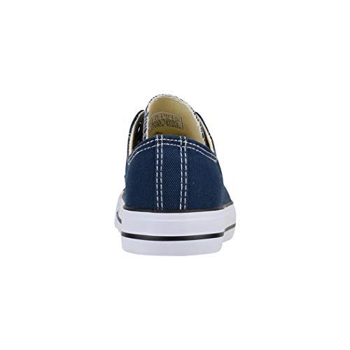 Basic Sport Loisirs Chaussures Femmes Blau Baskets Elara De Low Lacets A10Tq