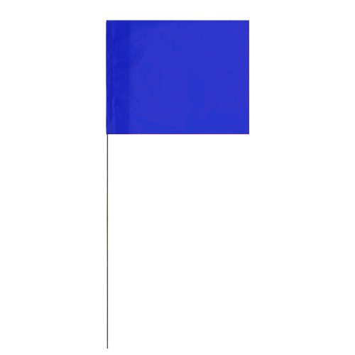 Marking Survey Flags several colors