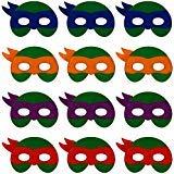 Teenage Mutant Ninja Turtles Birthday Party Ideas - Little Seahorse Ninja Turtle Masks for