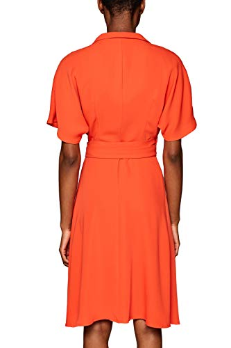 Orange 825 red Robe Esprit Femme Collection qOnftxP1