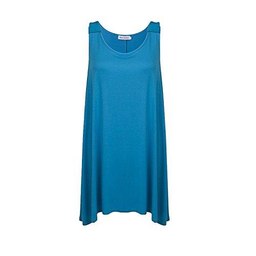 MISS n MAM - Camiseta sin mangas - para mujer turquesa