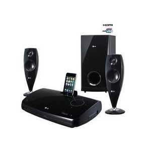 Welp LG HT33S 2.1 ch DVD Home Cinema System with iDock: Amazon.co.uk: TV PL-52