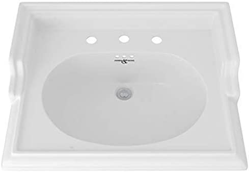 Rohl U.2863WH BASINS, 25-Inch Wide by 19 1 2-Inch, White
