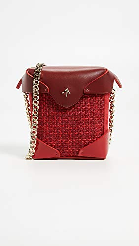 Box Gold with Bag Red Micro Chain Atelier Women's Pristine MANU xY0wI4CqR