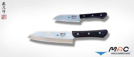 Mac Knife Superior Santoku Knife, Set of 2