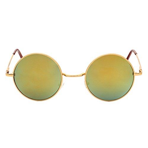 Mignon Unisexe Brillantes Des Voyage De Eyewear Vacances De Cool Yying C5 Rondes Soleil Lunettes Protection Conduite UV 400 La Tendance Lunettes Prince Pour dAwU1I8Uq