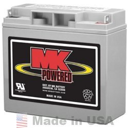 MK Battery ES17-12 12V, 18AH Sealed Lead Acid Battery by MK/Deka