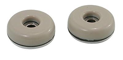 Shepherd Hardware Round, Adhesive Slide Glide Furniture Sliders, 4-Pack