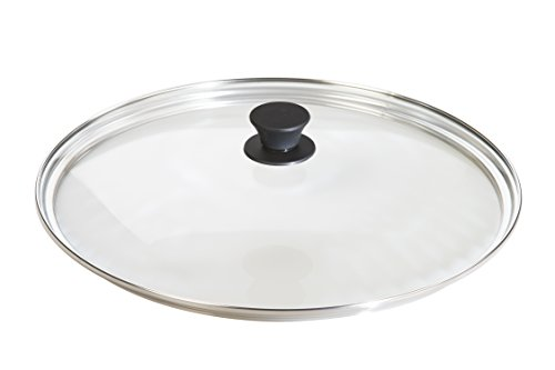 Lodge Tempered Glass Lid (15 Inch) - Fits Lodge 15 Inch Cast Iron Skillets and 14 Inch Cast Iron Woks