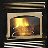 Door for Prestige NZ-26 Wood Burning Fireplace Door Style: Arched in 24 kt Gold Plated