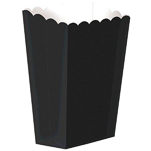 Strand Popcorn (Party Ready Large Popcorn Favour Box, Black, Paper, 7