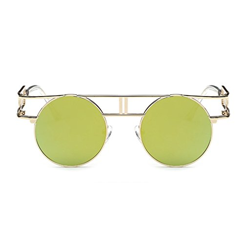 G&T Retro Vintage Style Gothic Steampunk Metal Frame UV Reflective - Eyeglasses For Sale Philippines Online